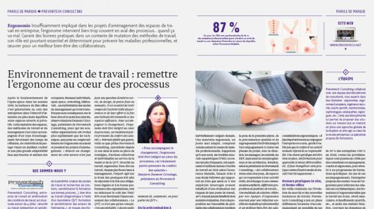 Workplace Magazine – Environnement de travail, remettre l'ergonome au coeur des processus – mai-juin 2019